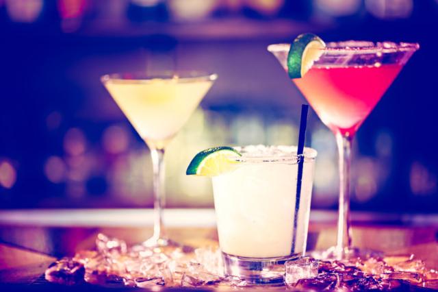 Ken Rose variety of cocktails