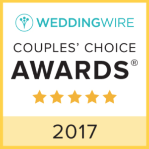 The WeddingWire Couples' Choice Award