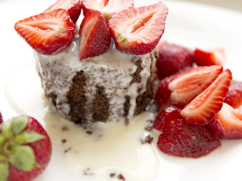 Ken Rose Menu plated desserts